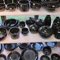 Black Glaze - Paul Melser Pottery