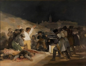 """Goya's """"The 3rd of May in Madrid 1808"""""""