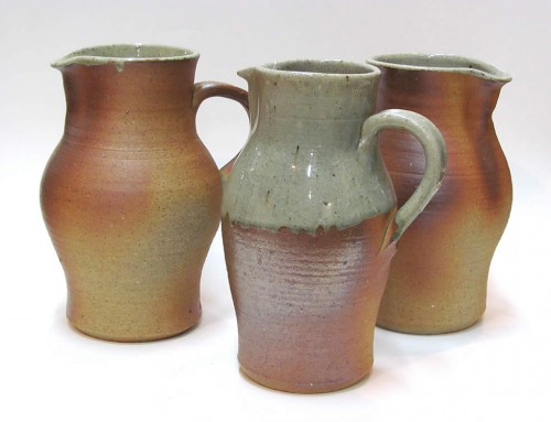 Woodfired jugs