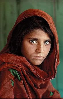 Afghan Girl by Steve McCurry, 1984